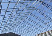 Konstrukcja stalowa hali wiaty obory garażu hala kratownice magazyn