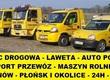 Transport lokalny Pomoc Drogowa Laweta Holowanie
