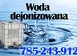 Pozostale maszyny i narzedzia Sprzedam wodę demineralizowan