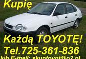 skup Toyotę Corollę E11 e11 Corolle E-11 Corolla E12