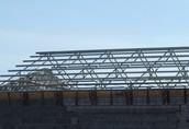 konstrukcja z demontażu dachowa stalowe na wiatę halę magazyn
