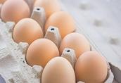 Jaja wiejskie, z wolnego wybiegu