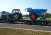 Transport maszyn rolniczych i budowlanych uslugi transportowe
