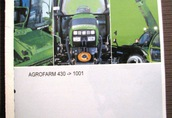 Instrukcja obsługi Deutz Fahr Agrofarm inne