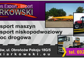 Transport lokalny firma ramzes export import robert ziarkowski zajmuje...