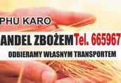 Żyto Firma PHU KARO prowadzi skup oraz sprzedaż zboża...