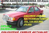 Kupię Mercedesa 190 W201 124 W124