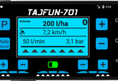Sterownik opryskiwacza, komputer opryskiwacza TAFUN-701  1