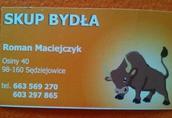 Byki na ubój Skup bydła rzeźnego oraz transport zwierząt na terenie...