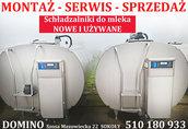 Schładzalnik do mleka zbiornik CHŁODNIA Delaval Krosno Westfalia