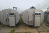 SCHŁADZALNIK zbiornik do mleka 6000 l Alfa Laval /montaż Chłodnia 1