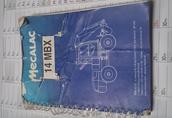 Instrukcja Mecalac 14 MBX