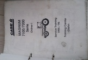 Instrukcja napraw CASE IH Magnum 7100/7200