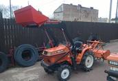 Używane japońskie mini ciągniki-traktory ogrodowe Warszawa 5