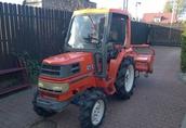 Używane japońskie mini ciągniki-traktory ogrodowe Warszawa 6