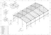 12x20 hala nowa konstrukcja stalowa wiata magazyn obora kurnik