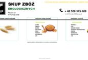 Skup zbóż ekologicznych
