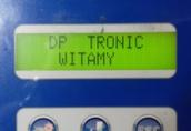 Komputer Berthoud D.P. Tronic - polski język