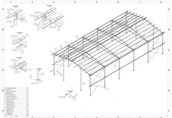 10x20 nowa konstrukcja stalowa hala wiata magazyn obora kurnik