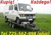 Kupię Toyotę Avensis I lub II tel 725 562 998 (sieć Plus) 1