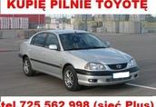 Cielaki i opasy Kupię Toyotę Avensis I lub II Corollę e9 E9 E10...