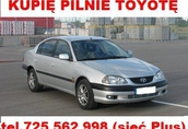 Kupię Toyotę Avensis I lub II Corollę e9 E9 E10 E11
