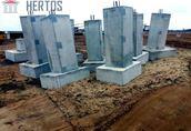 stopy i podwaliny oraz inne elementy konstrukcyjne prefabrykowane