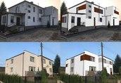 Projekt elewacji / wizualizacja domu / remont / malowanie/ wyko