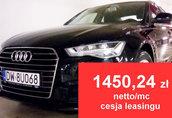 AUDI A6 2.0 TDI- CESJA LEASINGU -1450, 24 zł netto/mc