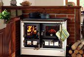 Kuchnie węglowe, na drewno, pellety, piecyki, kominki. 45