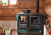 Kuchnie węglowe, na drewno, pellety, piecyki, kominki. 89