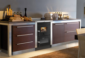 Kuchnie węglowe, na drewno, pellety, piecyki, kominki. 111
