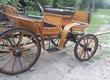 Klacze Sprzedam bryczkę konną z ok 1900