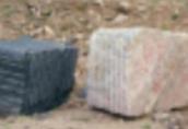 Ukraina. Kostka granitowa 200 zl/tona czarna, czerwona. Bloki