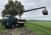 Pozostale maszyny i narzedzia VOLVO TERBERG FM 1350 euro 5 wywrotka 6x6 z DZWIGIEM...