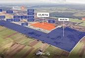 Teren inwestycyjny 15, 41 ha przy autostradzie A4