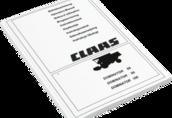 Instrukcja obsługi Claas Dominator 106 96 86