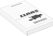 Instrukcja obsługi Claas Dominator 204 208 Mega III