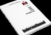 Instrukcja International IH 484 584 784 HYDRO-84