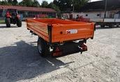 Przyczepa rolnicza jednoosiowa komunalna T 655 PRONAR 2t 1