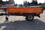 Przyczepa rolnicza jednoosiowa komunalna T 655 PRONAR 2t 4
