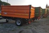 Przyczepa rolnicza jednoosiowa komunalna T 655 PRONAR 2t 6
