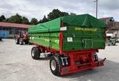 Przyczepa rolnicza komunalna dwuosiowa T 672 PRONAR 8t 2
