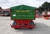 Przyczepa rolnicza komunalna dwuosiowa T 672 PRONAR 8t 4