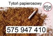 Tani tyt-oń papie-rosowy 65zł/kg tel.575-947-410